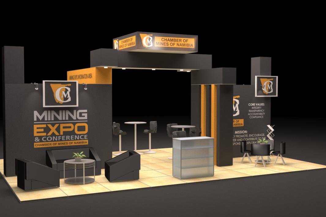Chamber of Mines 2017 Mining Expo Showstand
