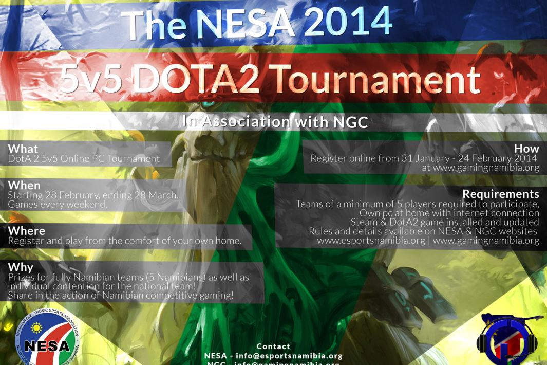 NESA 2014 5v5 DOTA2 Tournament A4